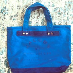 Marc by Marc Jacobs Blue Canvas Tote